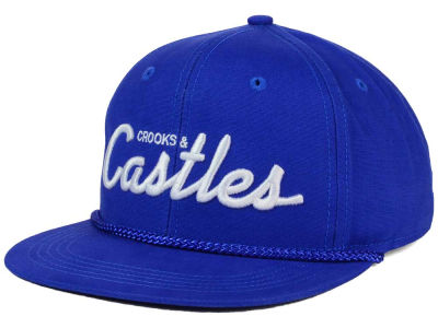 Crooks & Castle Team Castles Snapback Cap