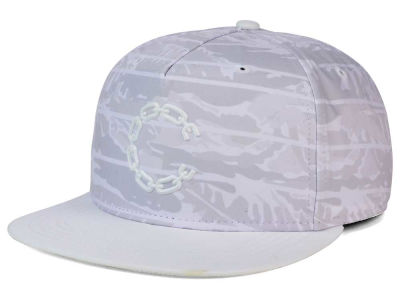 Crooks & Castle Chain C Printed Snapback Cap