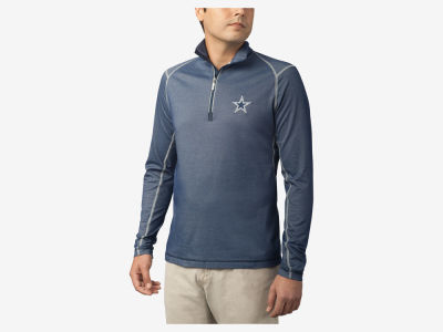 Dallas Cowboys Tommy Bahama NFL Men's Double Eagle Half Zip Pullover