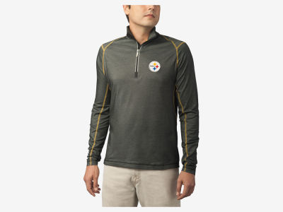 Pittsburgh Steelers Tommy Bahama NFL Men's Double Eagle Half Zip Pullover