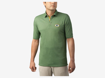 Green Bay Packers Tommy Bahama NFL Men's Double Eagle Spectator Polo Shirt