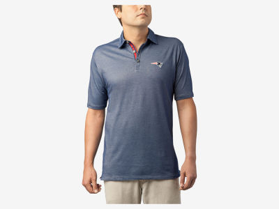 New England Patriots Tommy Bahama NFL Men's Double Eagle Spectator Polo Shirt