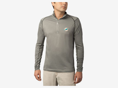Miami Dolphins Tommy Bahama NFL Men's Double Eagle Half Zip Pullover