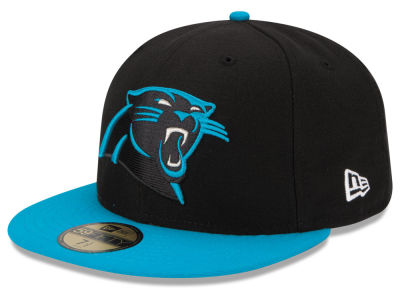 Carolina Panthers New Era NFL Super Bowl 50 On Field Patch 59FIFTY Cap