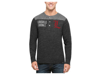 Louisville Cardinals '47 NCAA Men's Neps Henley Shirts