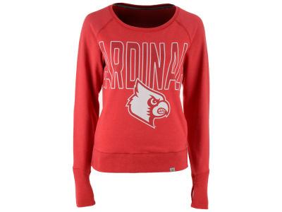 Louisville Cardinals '47 NCAA Women's React Raglan Long Sleeved T-Shirt