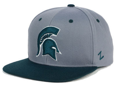Michigan State Spartans Zephyr NCAA Z11 Slate Snapback Cap