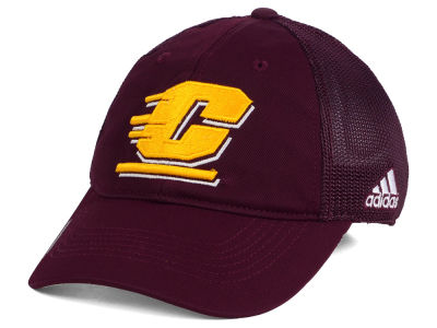Central Michigan Chippewas adidas NCAA Coach Meshback Flex Cap