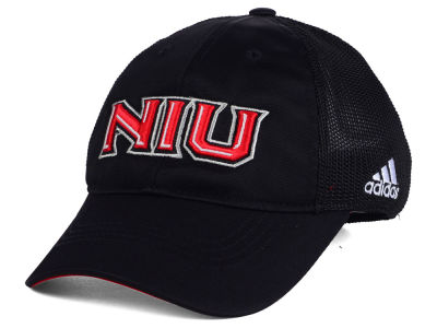 Northern Illinois Huskies adidas NCAA Coach Meshback Flex Cap