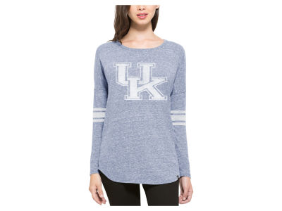 Kentucky Wildcats '47 NCAA Women's Neps Tri Scrum Long Sleeve T-Shirt