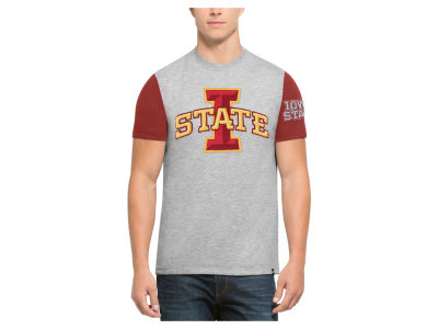 Iowa State Cyclones '47 NCAA Men's Triple Up T-Shirt