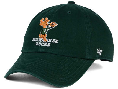 Milwaukee Bucks '47 NBA Hardwood Classics '47 CLEAN UP Cap