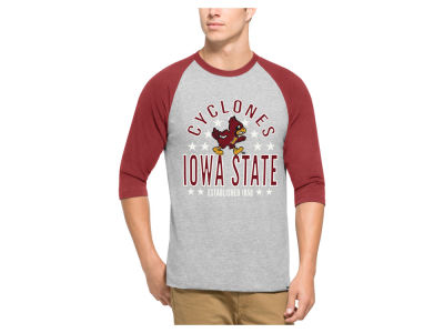 Iowa State Cyclones '47 NCAA Men's Lockdown Raglan Shirt