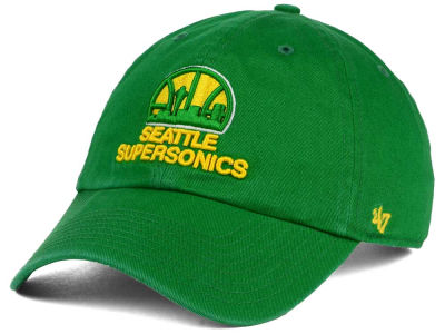 Seattle SuperSonics '47 NBA Hardwood Classics '47 CLEAN UP Cap
