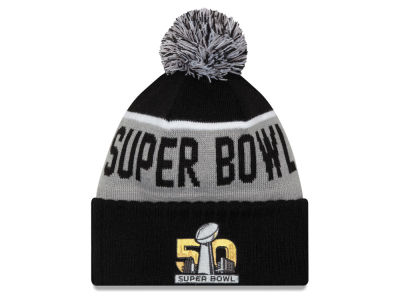 Denver Broncos New Era NFL Super Bowl 50 Participant Pom Knit