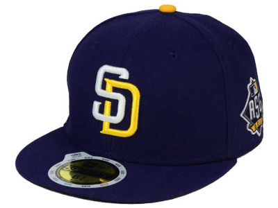 San Diego Padres New Era MLB 2016 Youth San Diego All Star Game Patch 59FIFTY Cap