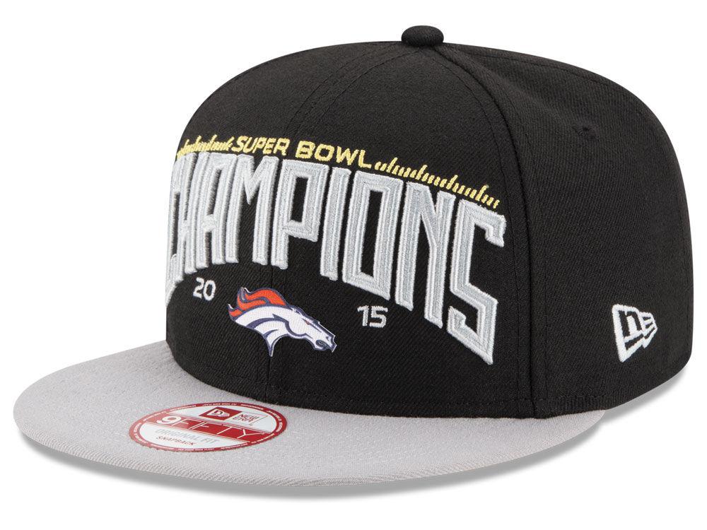 92328d42126738 ... shop denver broncos new era nfl super bowl 50 champ 9fifty snapback cap  1f4ce 660f6