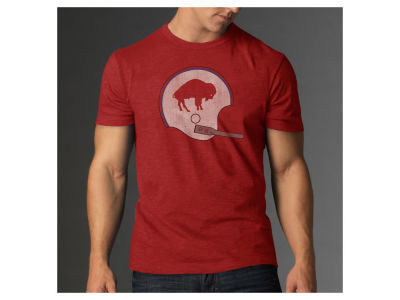 Buffalo Bills '47 NFL Retro Logo Scrum T-Shirt