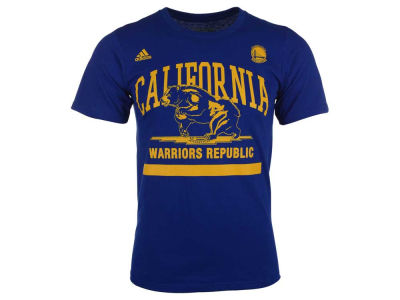 Golden State Warriors adidas NBA Men's Cali Bear T-Shirt 2016