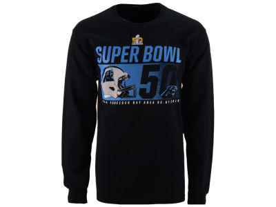 Carolina Panthers NFL Men's Super Bowl 50 On Our Way Longsleeve T-Shirt 16