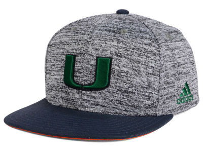 Miami Hurricanes adidas 2016 NCAA Player Snapback Cap