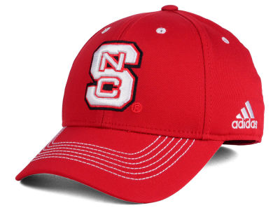 North Carolina State Wolfpack adidas NCAA Coach Flex Cap