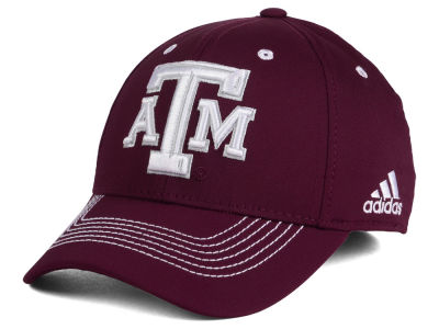 Texas A&M Aggies adidas NCAA Coach Flex Cap