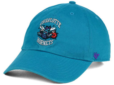 Charlotte Hornets '47 NBA Hardwood Classics '47 CLEAN UP Cap
