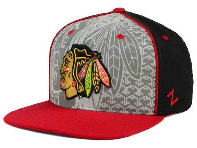 Chicago Blackhawks Zephyr NHL Reflector Snapback Hat