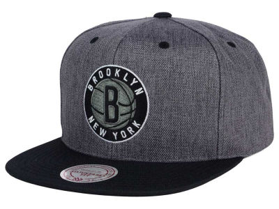 Brooklyn Nets Mitchell and Ness NBA Cation 2Tone Snapback Cap