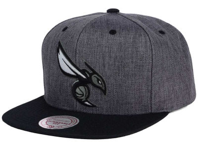 Charlotte Hornets Mitchell and Ness NBA Cation 2Tone Snapback Cap