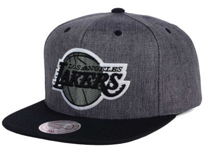 Los Angeles Lakers Mitchell and Ness NBA Cation 2Tone Snapback Cap
