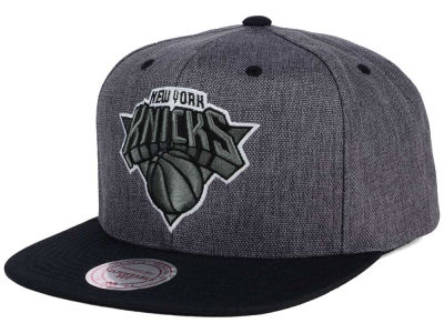 New York Knicks Mitchell and Ness NBA Cation 2Tone Snapback Cap
