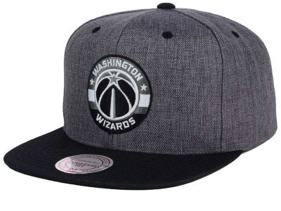 Washington Wizards Mitchell and Ness NBA Cation 2Tone Snapback Cap