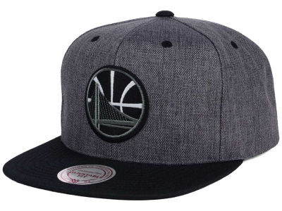 Golden State Warriors Mitchell & Ness NBA Cation 2Tone Snapback Cap