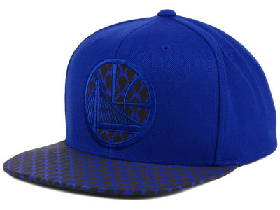 Golden State Warriors Mitchell & Ness NBA Reflective Iridescent Snapback Cap