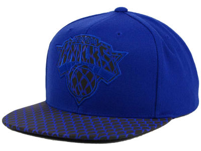 New York Knicks Mitchell and Ness NBA Reflective Iridescent Snapback Cap