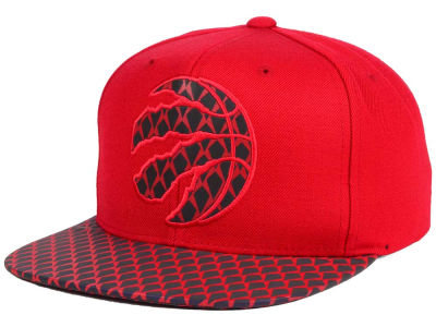 Toronto Raptors Mitchell and Ness NBA Reflective Iridescent Snapback Cap