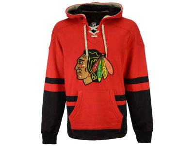 Chicago Blackhawks Reebok NHL Men's CCM Pullover Hoodie
