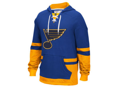 St. Louis Blues Reebok NHL Men's CCM Pullover Hoodie