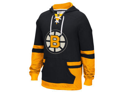 Boston Bruins Reebok NHL Men's CCM Pullover Hoodie