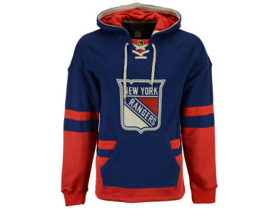 New York Rangers Reebok NHL Men's CCM Pullover Hoodie