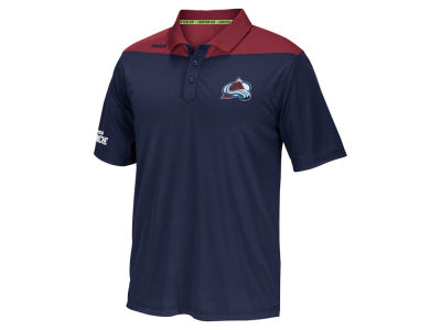 Colorado Avalanche Reebok NHL Men's Statement Polo