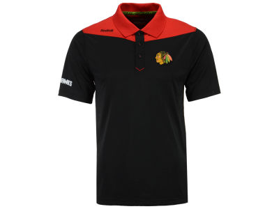 Chicago Blackhawks Reebok NHL Men's Statement Polo