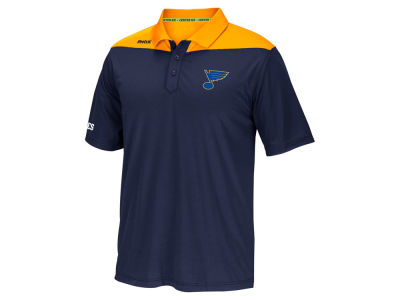 St. Louis Blues Reebok NHL Men's Statement Polo