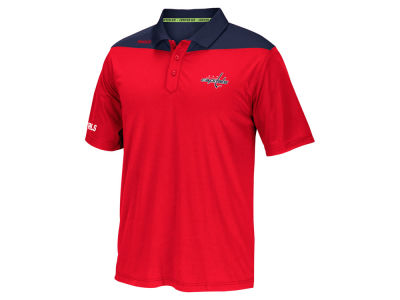 Washington Capitals Reebok NHL Men's Statement Polo
