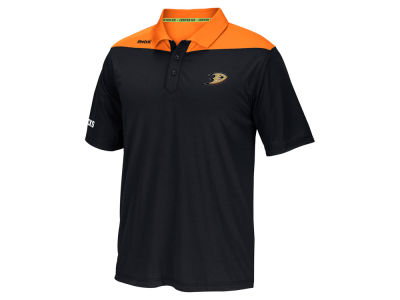 Anaheim Ducks Reebok NHL Men's Statement Polo