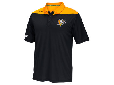 Pittsburgh Penguins Reebok NHL Men's Statement Polo