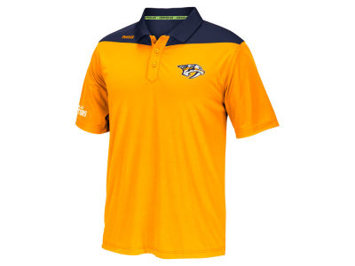 Nashville Predators Reebok NHL Men's Statement Polo