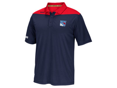 New York Rangers Reebok NHL Men's Statement Polo